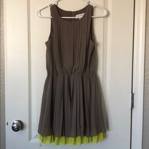 Jessica Simpson platted dress, Size XS